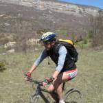 Alpes de Haute-Provence VTT St Jacques Compostelle 7