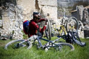 Alpes de Haute-Provence VTT St Jacques Compostelle 9