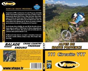 VTOPO Alpes de Haute-Provence 111 circuits VTT