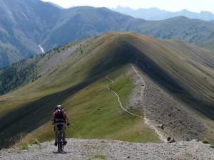 Vtopo Alpes de Haute-Provence VTT les coulisses