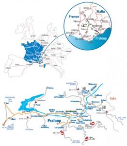 Pra loup, site d'accueil de LA COUPE DU MONDE DE TRIAL en partenariat avec l'Union Cycliste Internationale les 20 et 21 août 2011