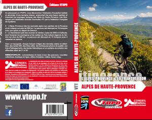 VTOPO L'Alpes-Provence et La TransVerdon Grandes Traversée VTT des Alpes de Haute-Provence