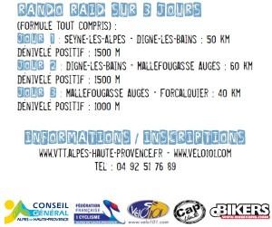 Rando Raid VTT L'Alpes-Provence - du 21 au 23 septembre 2012 - Alpes de Haute-Provence