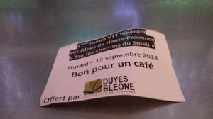 Une excellente idée : le ticket café !