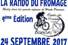 Rejoignez la Rando du Fromage 2017