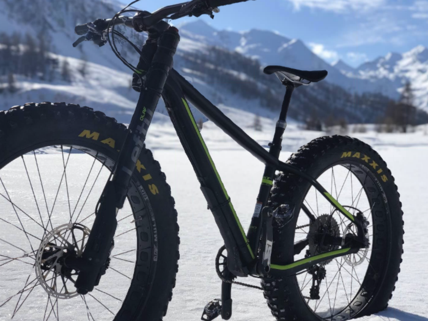 Fat Bike en Haute-Ubaye