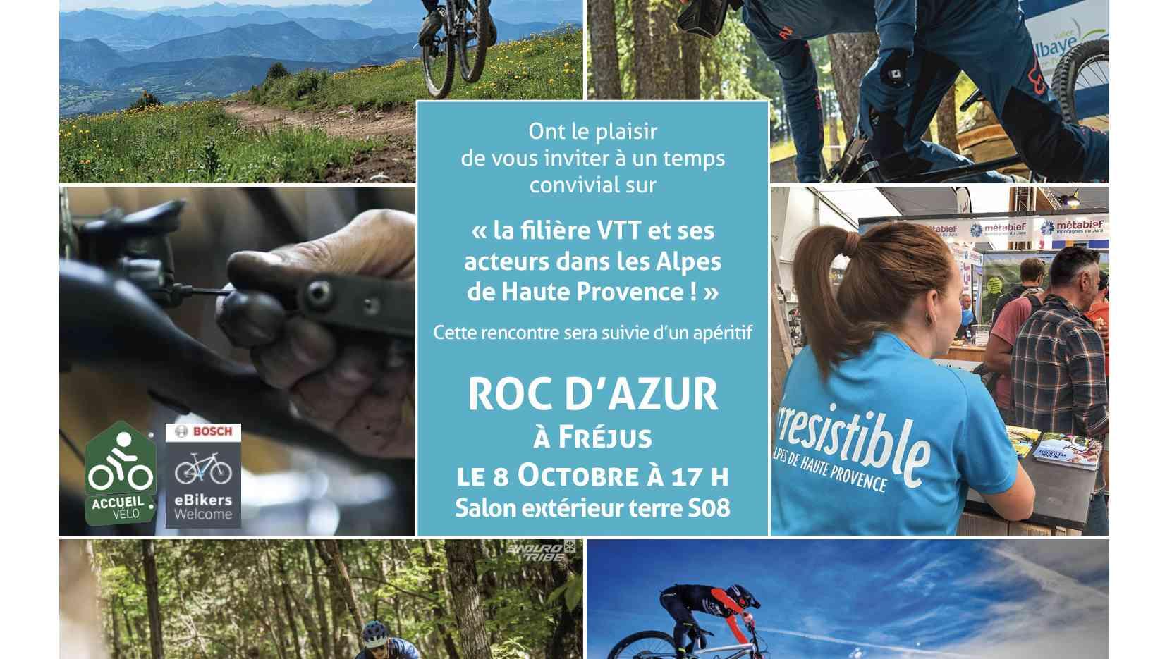 carton invitation Roc d'azur