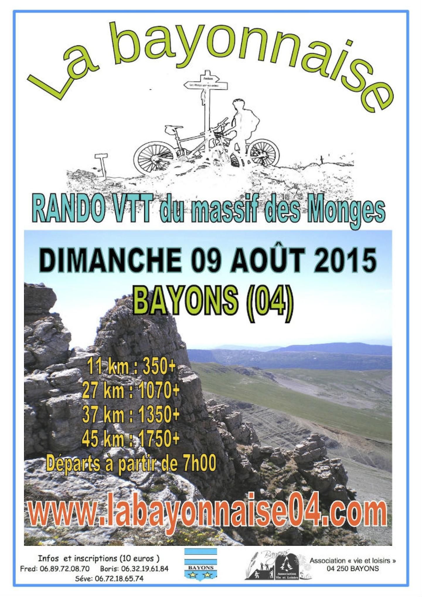VTT BAYONS 2015
